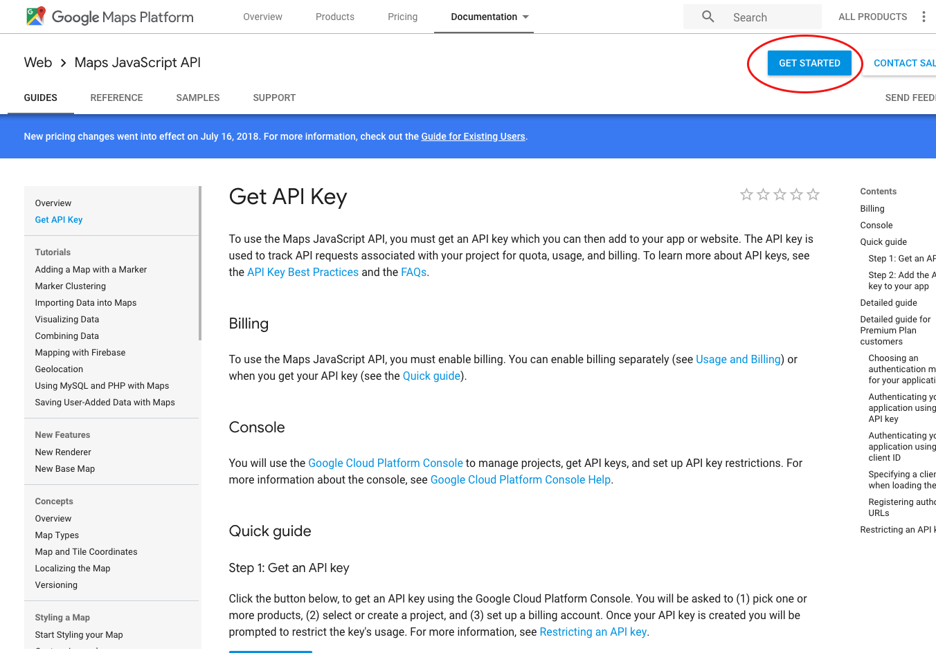 Creating A Google Api Key For Developer Integrated Maps In